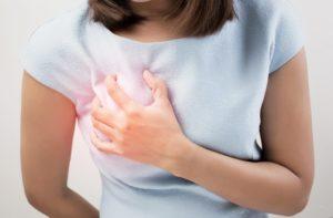 Боли в груди при климаксе