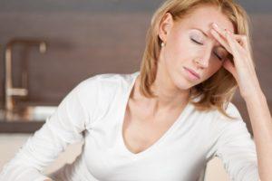 Из за стресса нет месячных