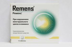 Препарат Ременс при климаксе