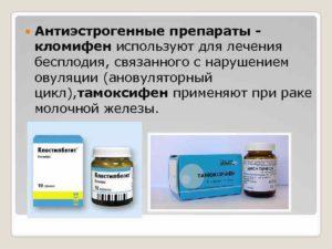 Антиэстрогены для женщин