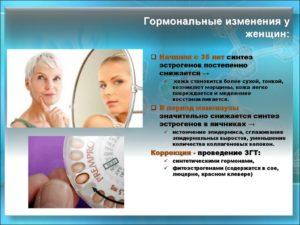 Гормональные изменения у женщин после 40 симптомы