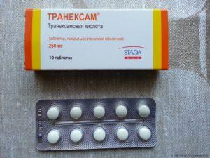 Кровоостанавливающие таблетки при месячных