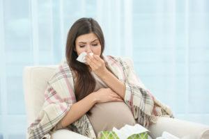 Беременность после простуды