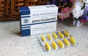 Доксициклин в гинекологии при воспалении