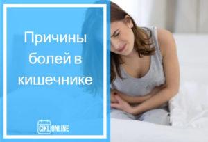 Перед месячными болит кишечник