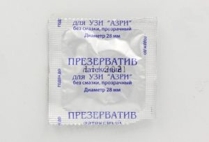 Зачем на УЗИ презерватив